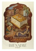 Advert for Caravane perfume by Bienaime, Paris