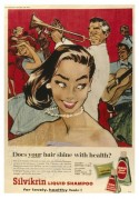 Advert for Silvikrin Liquid Shampoo