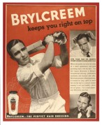 Advert for Brylcreem hair oil