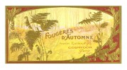 Label for Autumn Ferns Soap