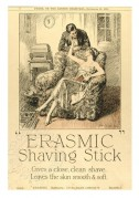 Advert for Erasmic Shaving Stick