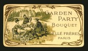 Garden Party Bouquet Soap Label