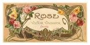 Label for Rose Soap