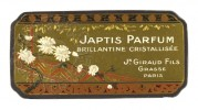 Label for Japtis Perfume