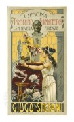 Poster for the Official Pharmacy of Florence