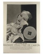 Advert for Make Up Powder by Caron