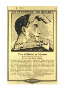 Gillette American Advert from Life Magazine