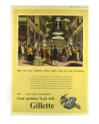 Gillette Festival of Britain Advert