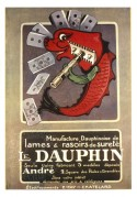 Advert for Dauphin Razor Blades