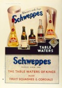 Advert for Schweppes Table Waters