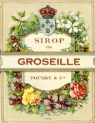 Label for Sirop de Groseille