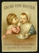 Advert for Van Houten Cocoa