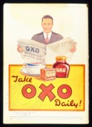 Advert for Oxo drinks and cubes