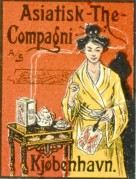 Advert for Asiatisk Tea