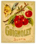 Label for Guignolet Surfin