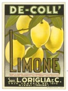 Label for Lemon Juice