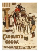 Poster for Cadbury's Cocoa