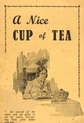 History of Tea Brochure cover