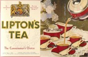 Label for Liptons Tea, by Appointment to George V