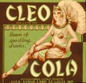 Cleo Cola Label