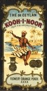 Kooh-I-Noor Tea Label, presented in Switzerland