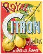 Royal Citron Label