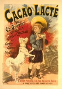 Poster for Milky Cocoa by Ch. Gravier