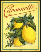 Lemon Juice label