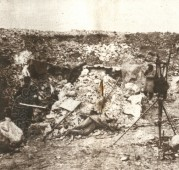 The Village and Battlefield of Carency after the Defeat of the Germans