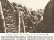 General Franchet visits the trenches at Esprey