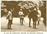 The Duke of Connaught decorates a French Officer