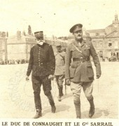 The Duke of Connaught and General Sarrail