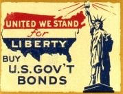 Poster for USA Liberty Bonds