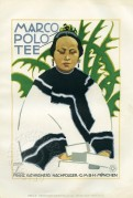 Poster advertising Marc Polo Tea