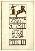 Advertising poster for arts and crafts