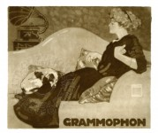 Advert for a gramaphone