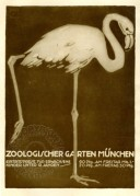 Poster for the Zoological Garden in Munich