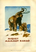 Advert for Riquet Mammoth Cocoa