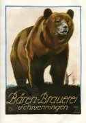 Poster for the Baren Brewery