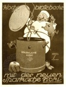 Advert for the new Sparkuche cooker