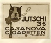 Cigarette advert for Casanova Cigarettes