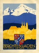 Poster for an Alpine Hotel