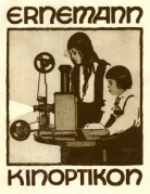 Advert for Ernemann Projectors