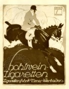 Advert for hunting clothes