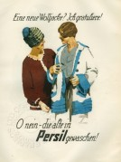 Advert for Persil Washing Powder