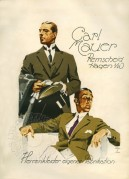 Advert for Carl Mauer Bespoke Tailoring