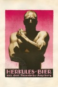 Advert for Herkules Beer
