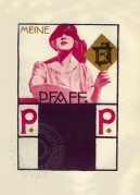 Advert for PFAFF Sewing Machines