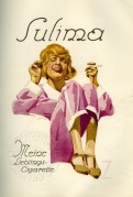 Advert for Sulima Cigarettes