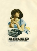 Advert for Adler Typewriters